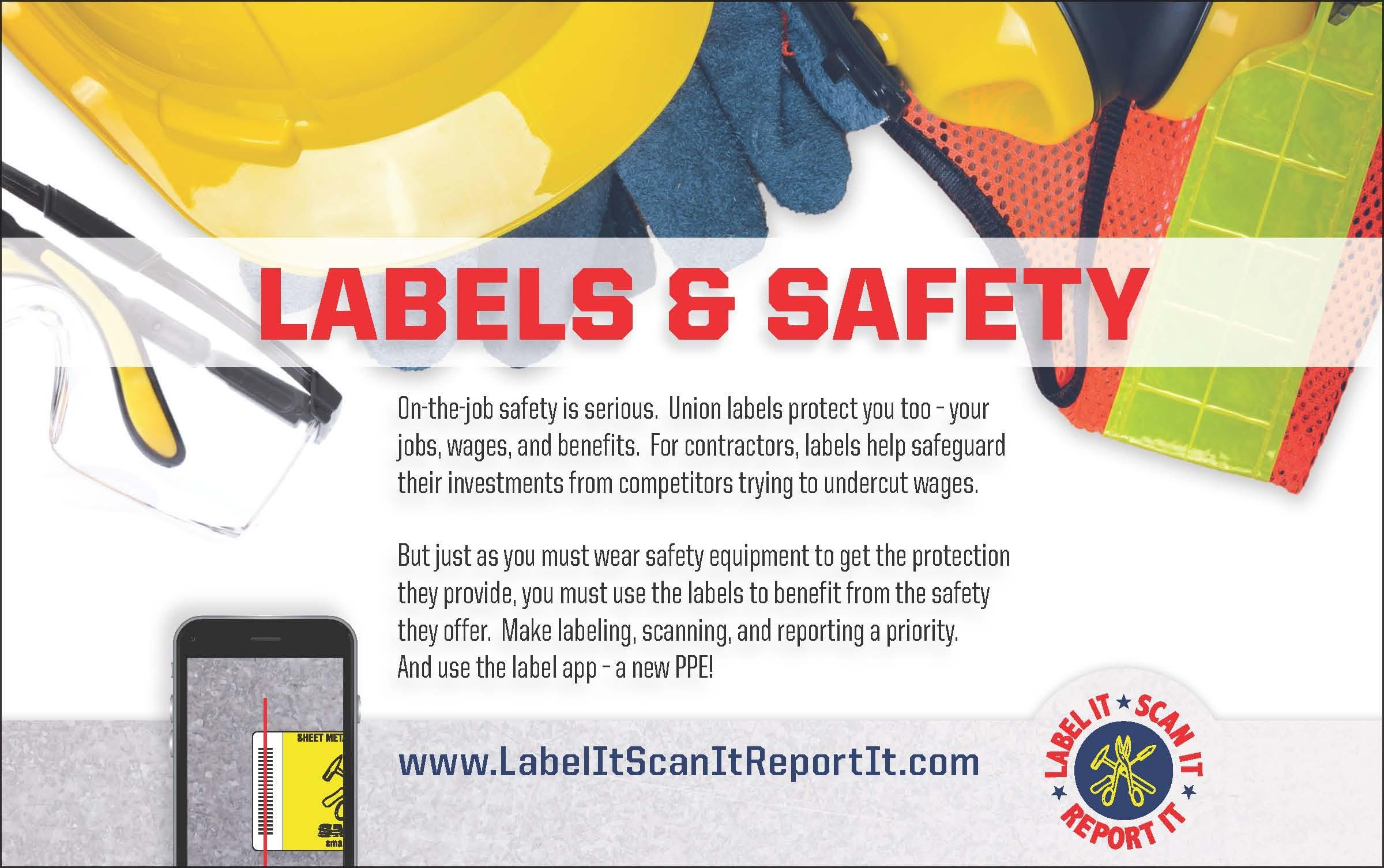 Scan It, Label It, Report It!